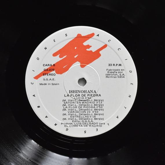 Ishinohana - La Flor De Piedra  [LP]