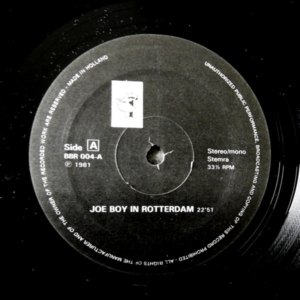 Joeboy,  Winston Tong - Joeboy In Rotterdam / Joeboy San Francisco