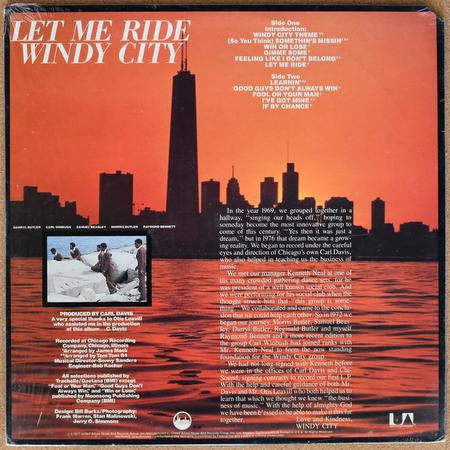 Windy City - Let Me Ride