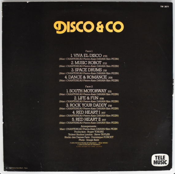 Marc Chantereau/Pierre-Alain Dahan/Slim Pezin - Disco & Co