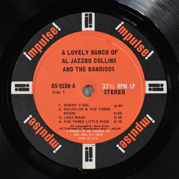 Al Jazzbo Collins - A Lovely Bunch Of Al Jazzbo Collins And The Bandidos