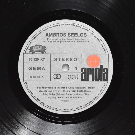 Ambros Seelos - Ambros Seelos [2xLP]