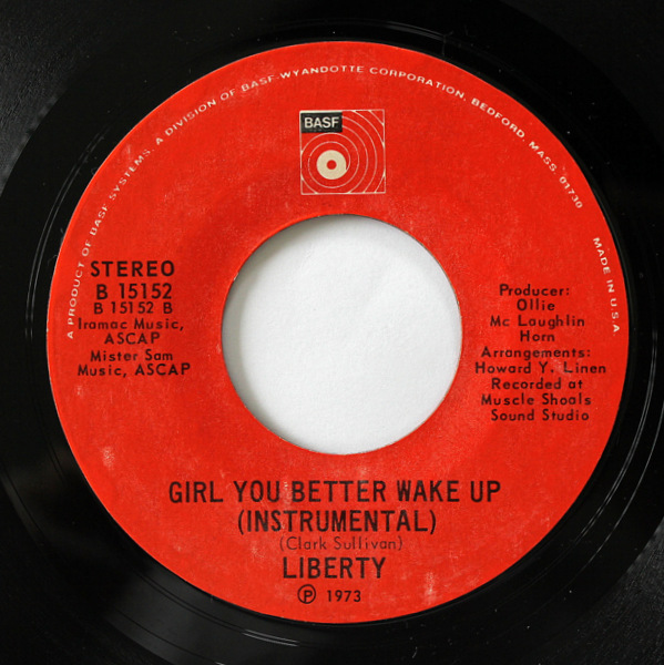 Liberty - Girl You Better Wake Up ( Vocal / Instrumental )