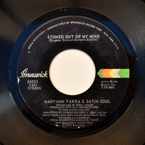Maryann Farra & Satin Soul - Stoned Out Of My Mind