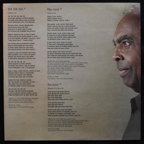 Gilberto Gil - Ok Ok Ok  [LP]