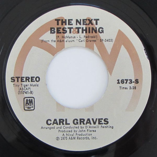 Carl Graves - The Next Best Thing / Brown Skin Love