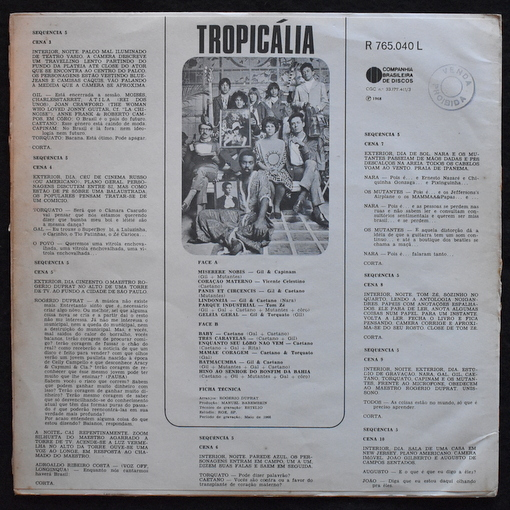 Various - ropicalia Ou Panis Et Circencis  [LP]