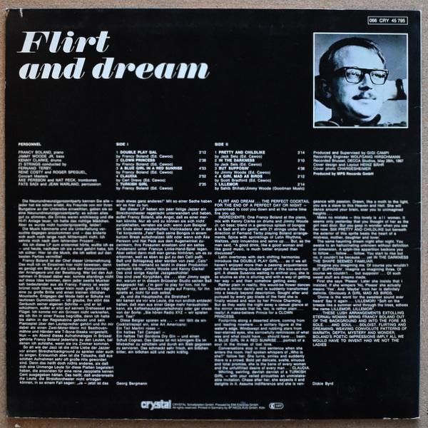 Francy Boland - Flirt And Dream  [LP]