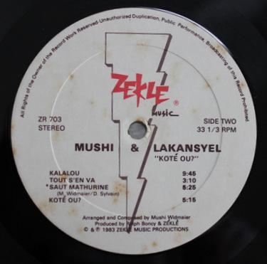 Mushi & Lakansyel - Kote Ou?