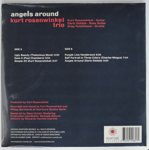 KURT ROSENWINKEL Trio - Angels Around