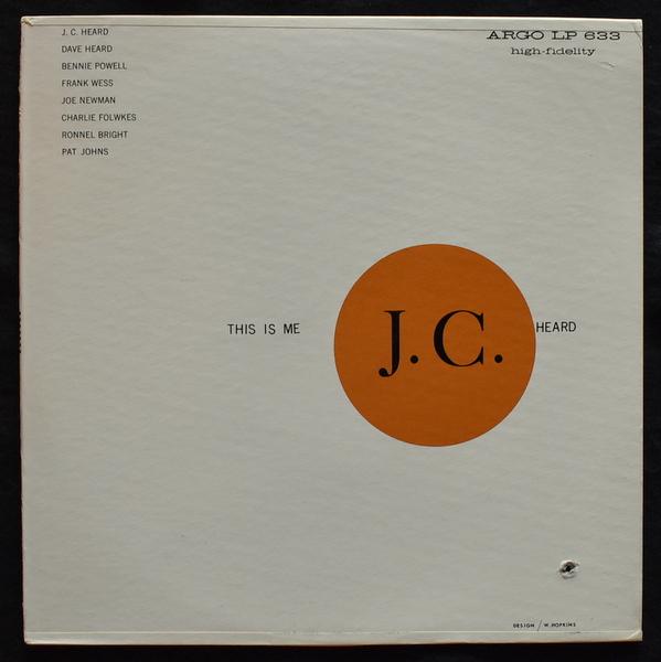 J. C. Heard Octet - This is Me [LP+7inch]