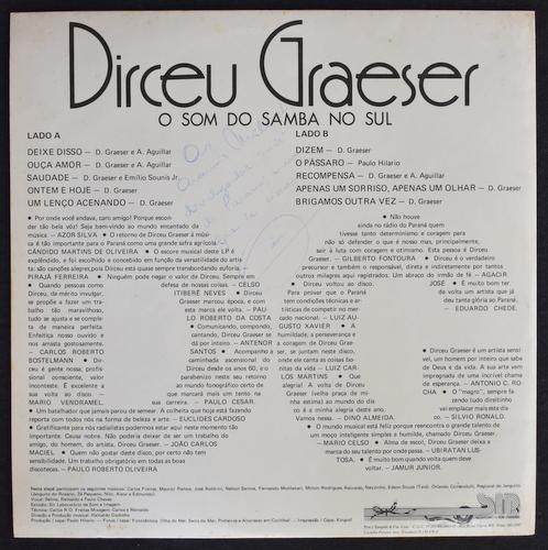 Dirceu Graeser - O Som Do Samba No Sul Vol.1