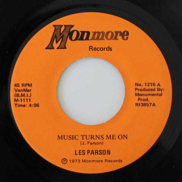 Les Parson - Music Turns Me On