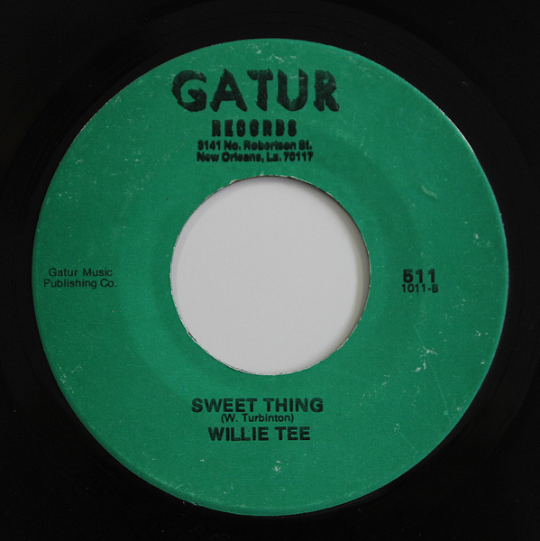 Willie Tee - Man That I Am / Sweet Thing