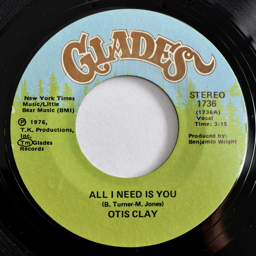 Otis Clay - All I Need Is You / Special Kind Of Love