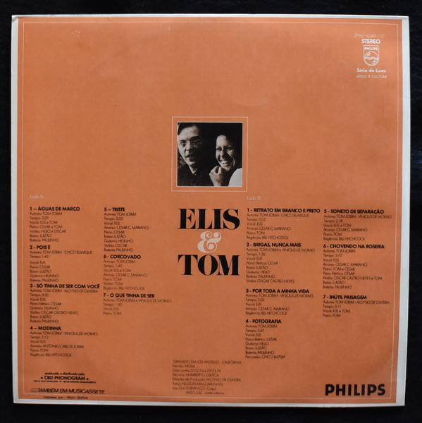 Elis & Tom - Elis & Tom [LP]