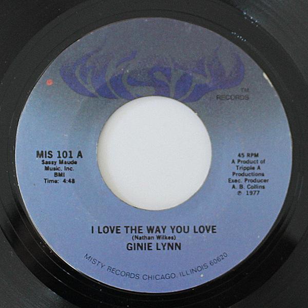 Ginie Lynn - I Love The Way You Love