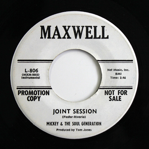 Mickey & The Soul Generation - Football / Joint Session (Promo)