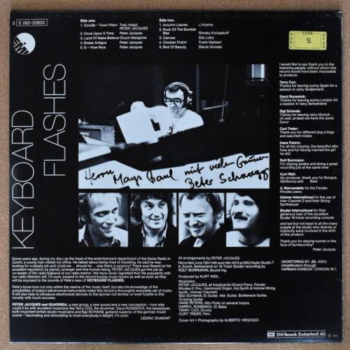 Peter Jacques + Quadriga - Keyboard Flashes