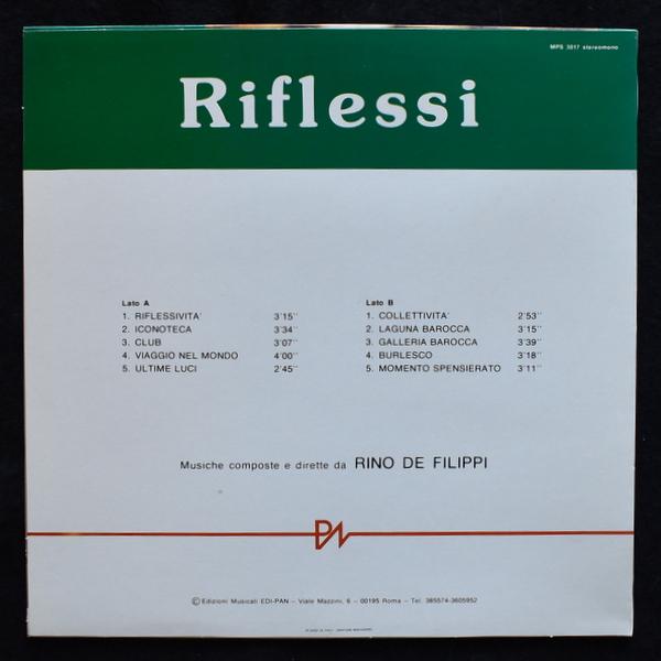 Rino de Filippi - Riflessi  [LP]