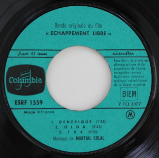 Martial Solal - Eacute;chappement Libre