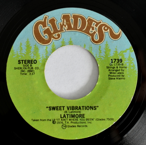 Latimore - Somethin' 'Bout 'Cha / Sweet Vibrations