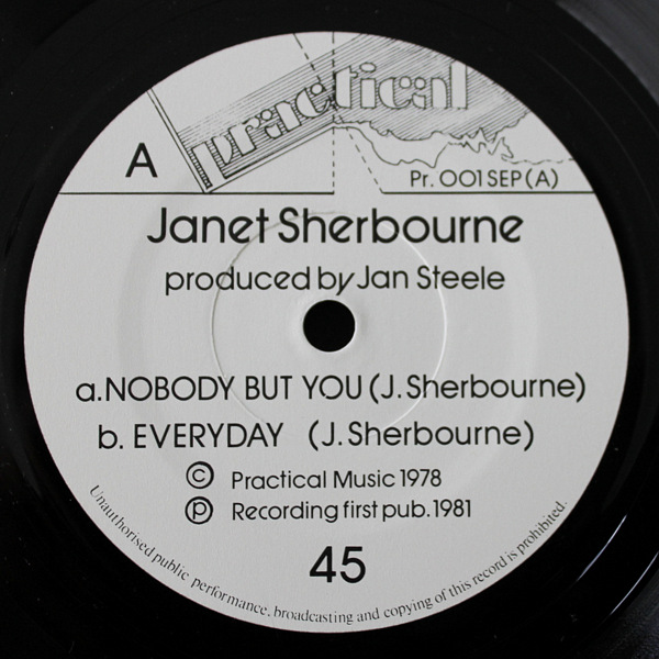Janet Sherbourne - Nobody But You