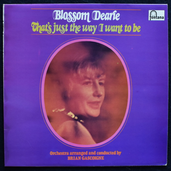 Blossom Dearie - That's Just The Way I Want To Be  UK ステレオオリジナル