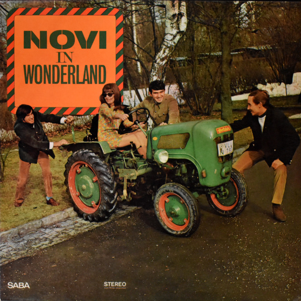 Novi Quartet - Novi In Wonderland