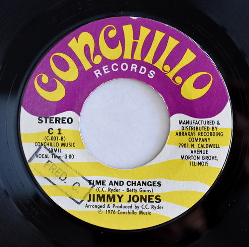 Jimmy Jones - Ain't Nothing Wrong Makin' Love The First Night / Time And Changes