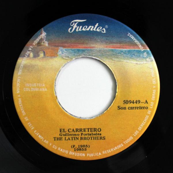 The Latin Brothers - El Carretero / Sobre Las Olas
