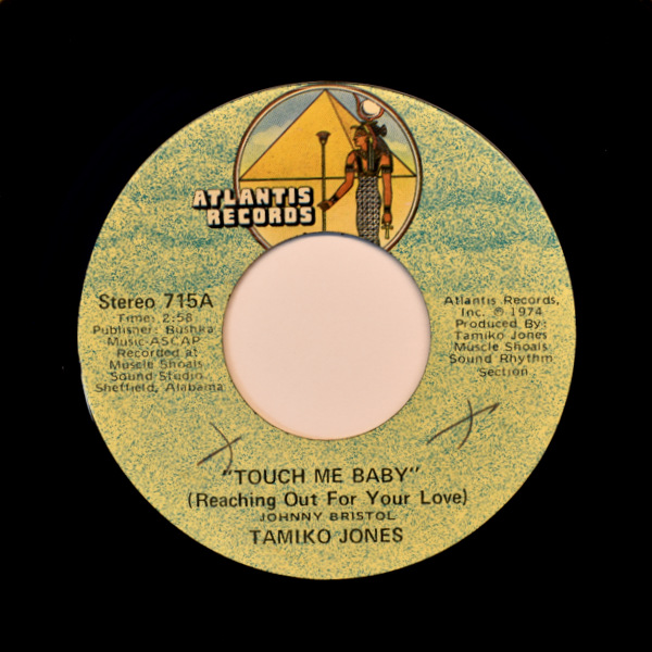 Tamiko Jones - Touch Me Baby (Reaching Out For Your Love) / Creepin' (In My Dreams)