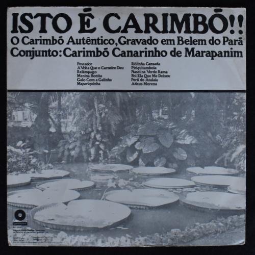Carimbo Canarinho De Marapanim - Isto E Carimbo!!