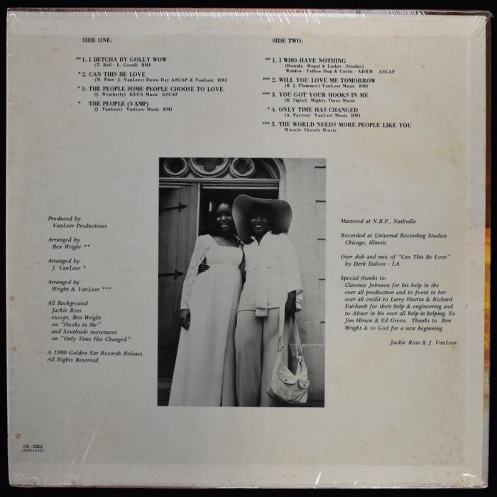Jackie Ross - A New Beginning