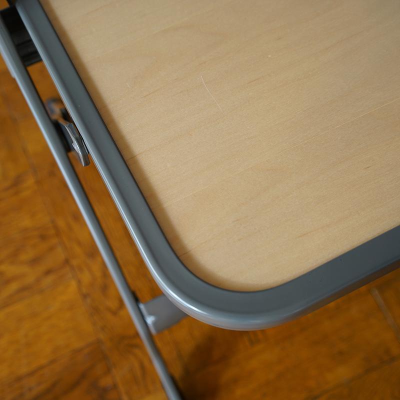 CLARIN WOOD SEAT FOLDING CHAIR