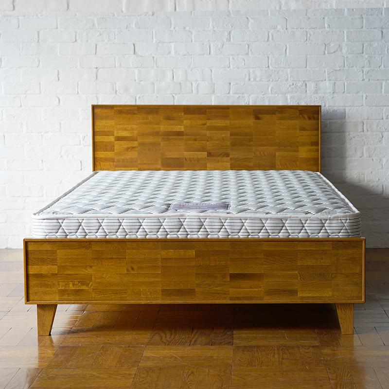 PARQUET BACK BED double