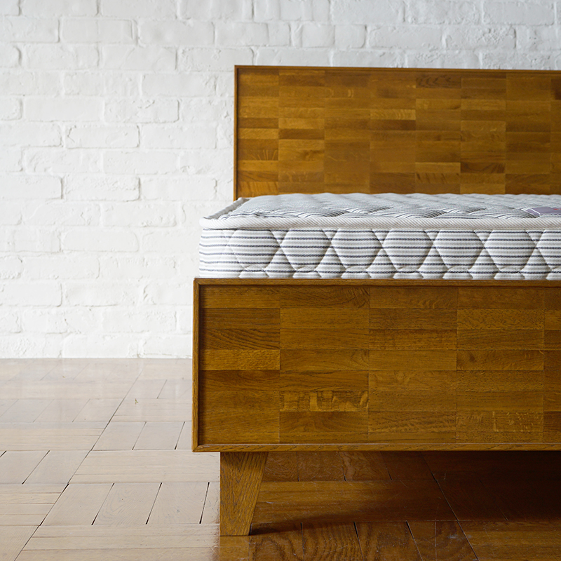 PARQUET BACK BED king