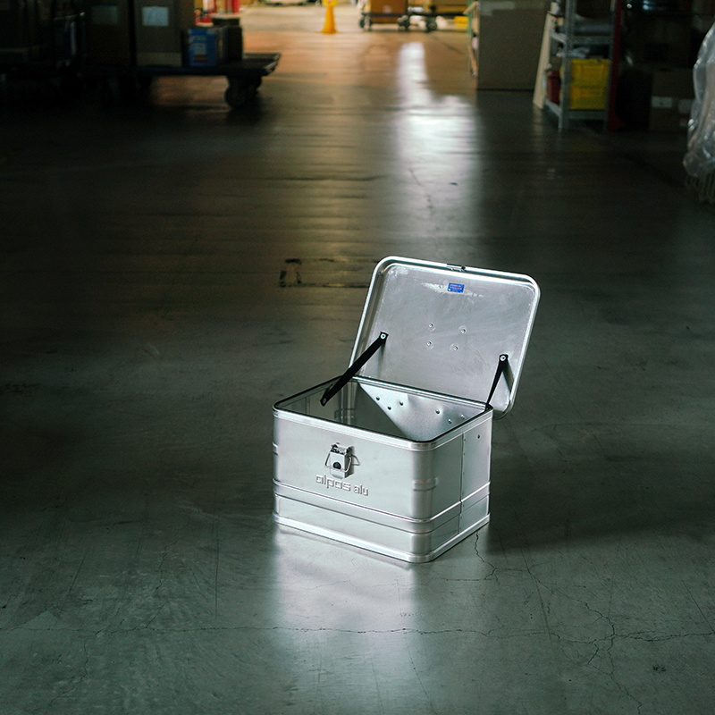 ALPOS ALUMI CONTAINER with Lid - XS
