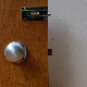 BATHROOM INDICATOR BOLT -  Chrome Plated