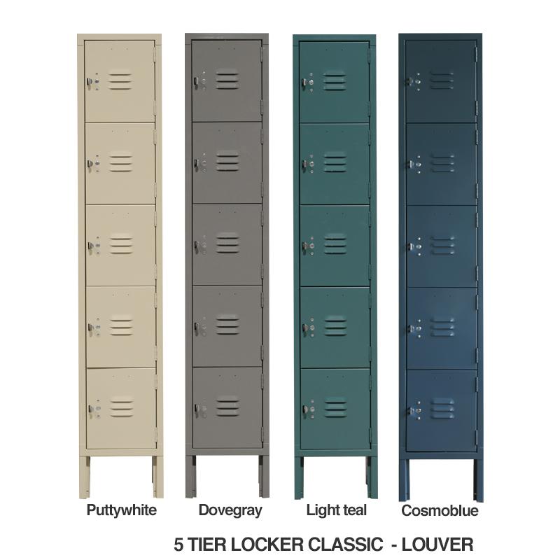 LYON 5-TIER LOCKER LOUVER - CLASSIC TYPE