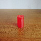 HINGE TOP CONTAINERS - RED