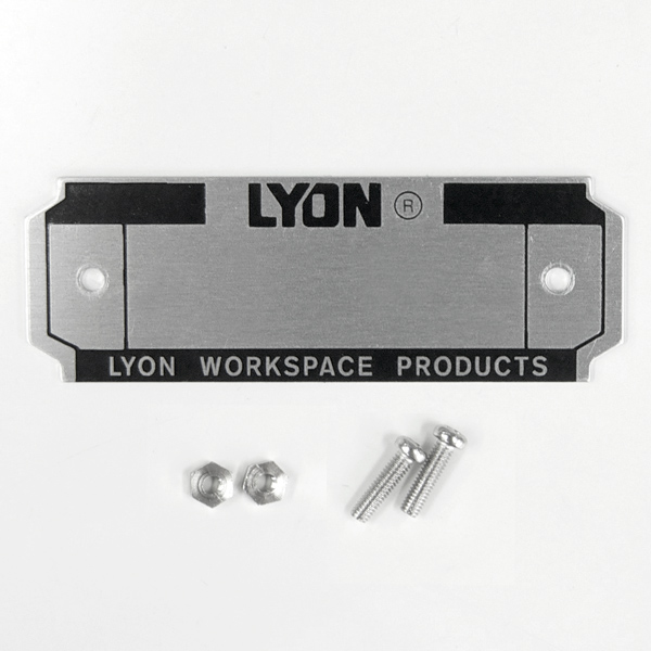 LYON NUMBER PLATE