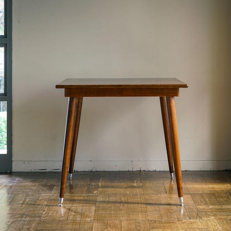 SQUARE TABLE  L / darkbrown