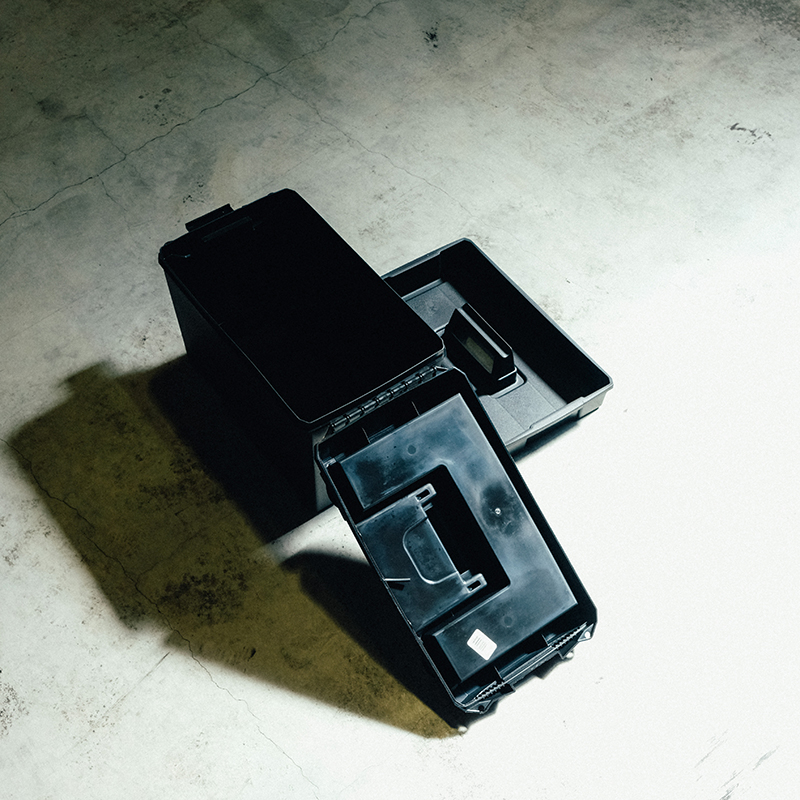 GEAR BOX WITH LIFT-OUT TRAY(L)