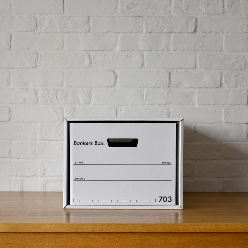 FELLOWS BANKERS BOX - 703BOX (3個セット)
