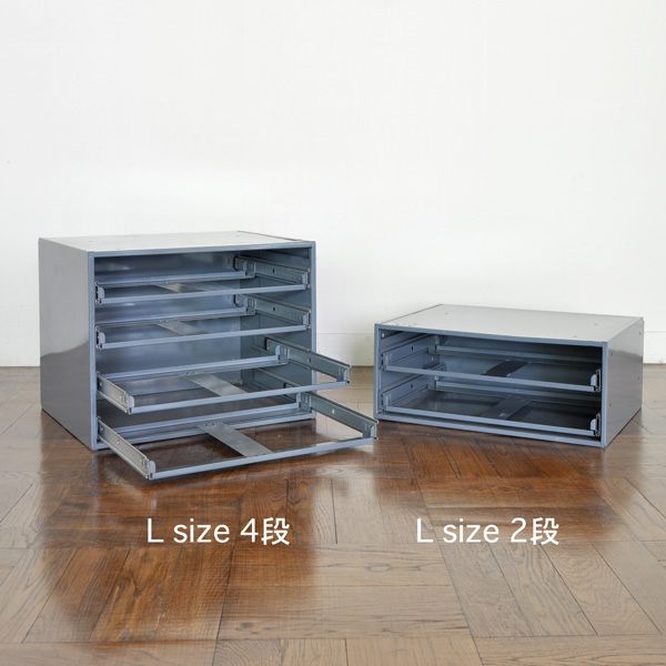 SLIDE RACK FOR COMPARTMENT BOX