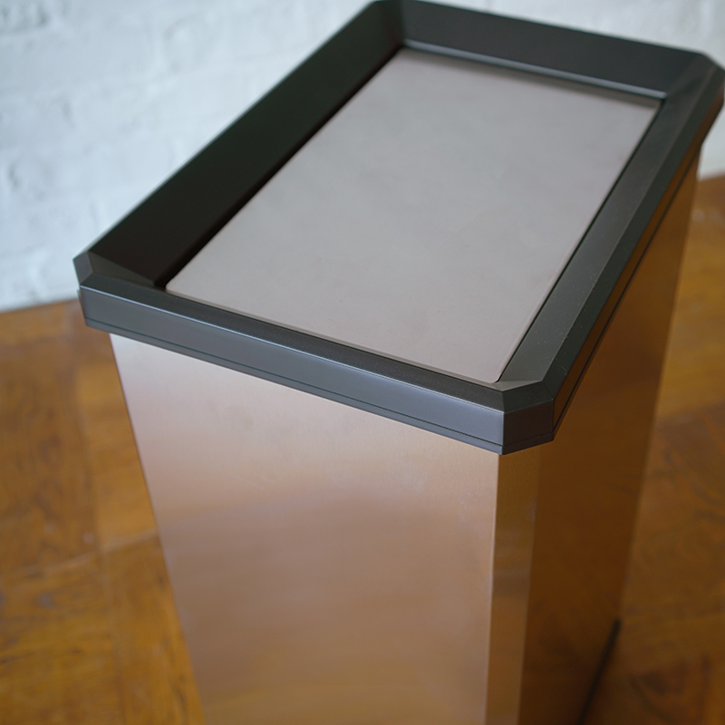 STAINLESS TURN BOX (L)