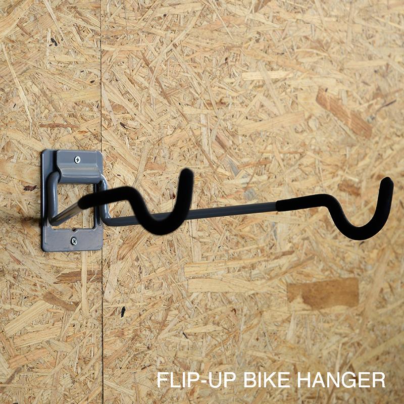 FLIP-UP BIKE HANGER