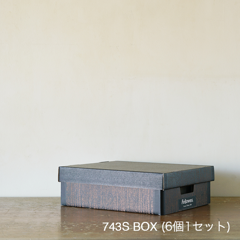 FELLOWS BANKERS BOX - Woodgrain 743S BOX (6個セット)