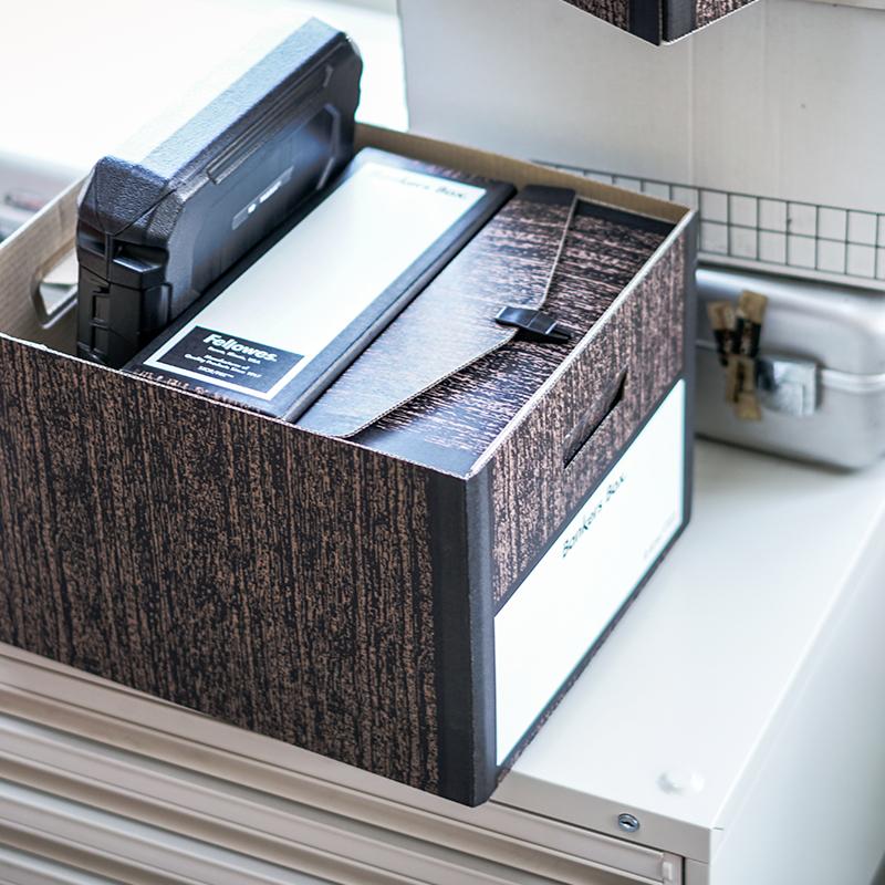 FELLOWS BANKERS BOX - Woodgrain 4311 BINDER PACK (3個セット)